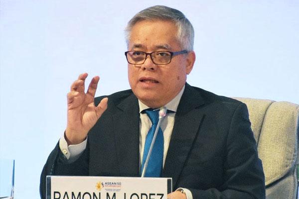 DTI Secretary Ramon Lopez