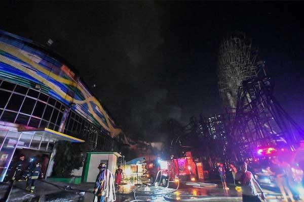 Star City fire / ABS-CBN