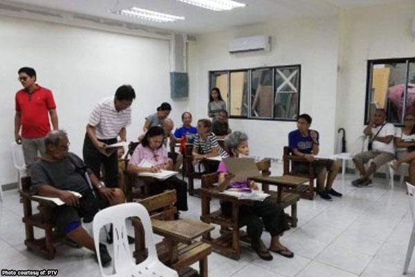 Makati centenarian still votes