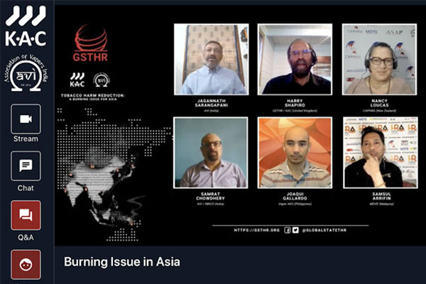 Tobacco Harm Reduction: A Burning Issue for Asia and the Far East