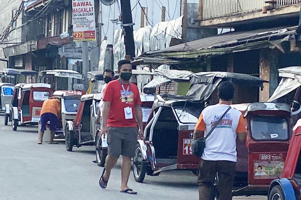 Tricycle terminal in Caloocan City / Photo Courtesy of Tribune.net.ph