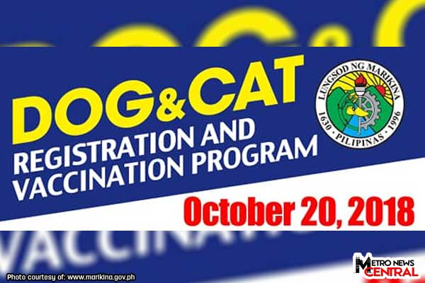 Pet registration in Fortune and Parang