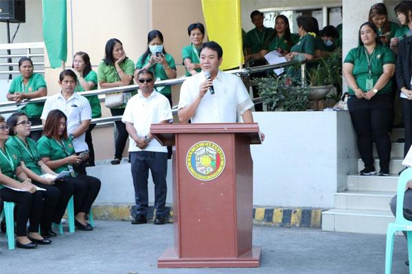 Paranaque City Mayor Edwin Olivarez