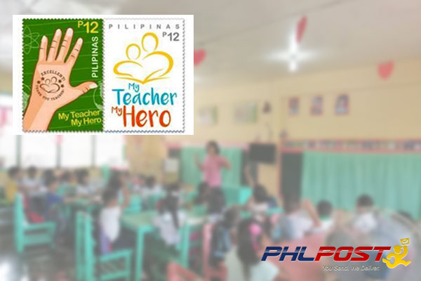 PhilPost Thank you stamp for teachers / PIA