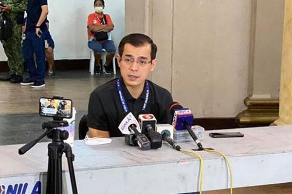 Manila City Mayor Francisco Isko Moreno Domagoso / Manila PIO
