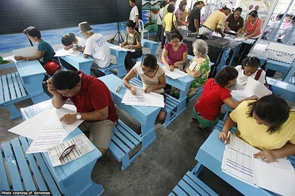 Poll Precinct in the Philippines / Photo Courtesy of The Guardian