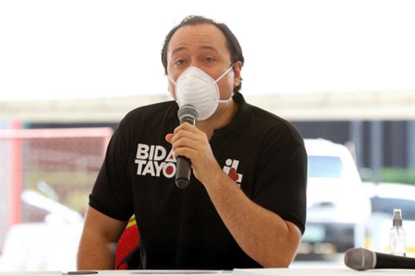 Taguig City Mayor Lino Cayetano
