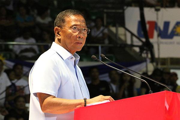 Former Vice President Jejomar Binay
