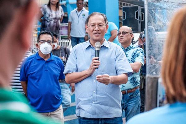Marikina City Mayor Marcelino Teodoro