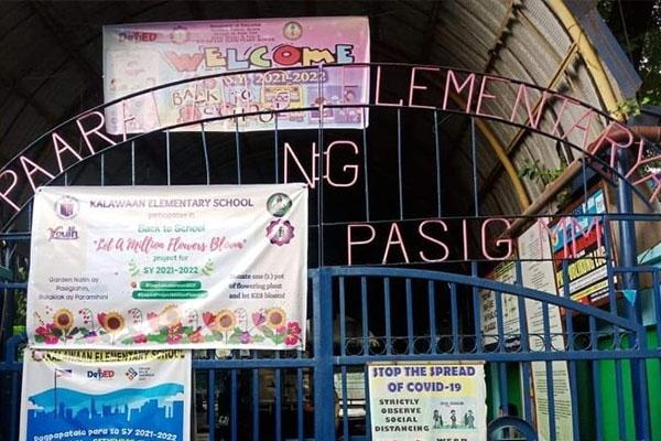 Kalawaan Elementary School, Pasig City (Facebook photo)