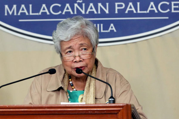 Education Secretary Leonor Briones / PCOO