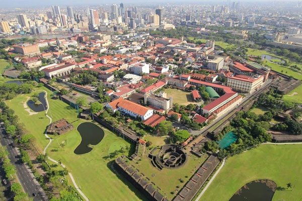 Intramuros in Manila