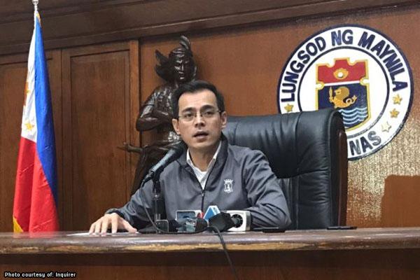 Manila Mayor Francisco %u201CIsko Moreno%u201D Domagoso