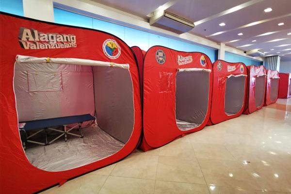 Quarantine facility for our returning OFW / Valenzuela PIO