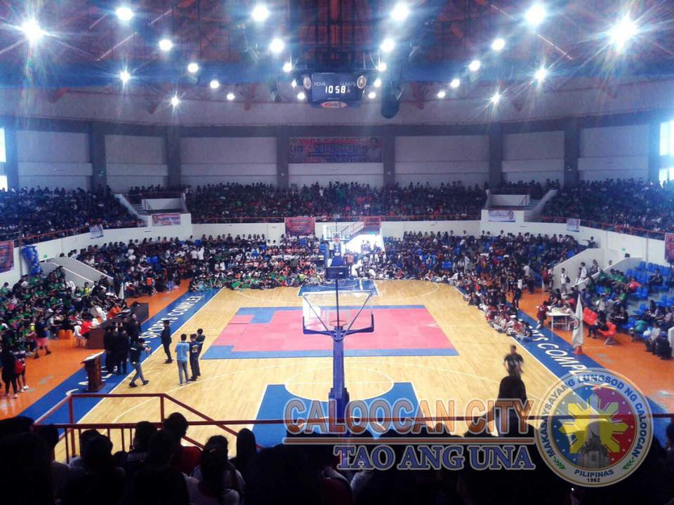 UCC holds intramurals in Caloocan Sports Complex