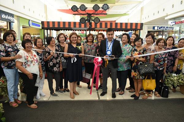 Vice Mayor Aguilar representing Mayor Mel Aguilar formally opened the 27th Garden Show and Exhibit of the Las Pinas Garden Club / Las Pinas PIO