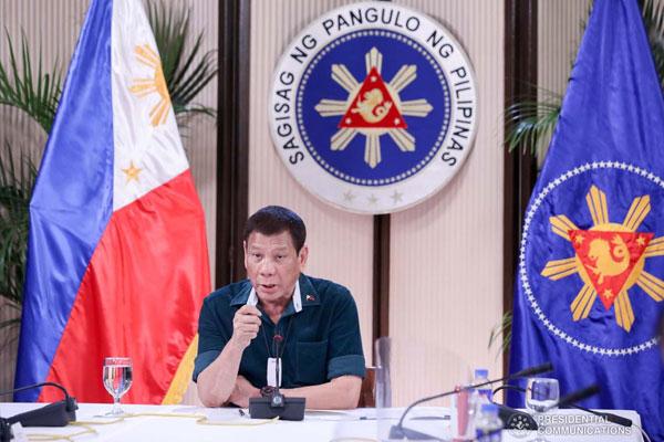 President Rodrigo Roa Duterte / PCOO