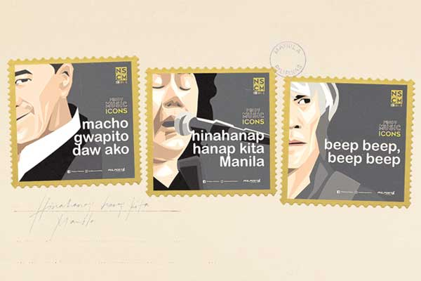Philpost releases Pinoy Music stamps