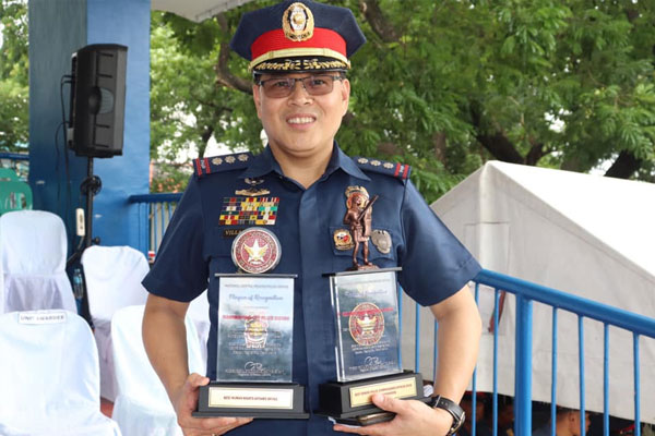 villaceran as the new pasig police chief