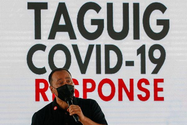 Taguig City Mayor Lino Cayetano / Photo Courtesy of The Star / KJ Rosales