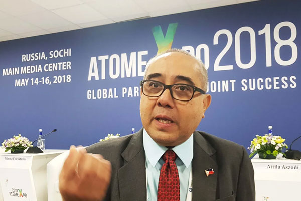 Philippine Nuclear Research Institute director Carlos Arcilla / Times Of News
