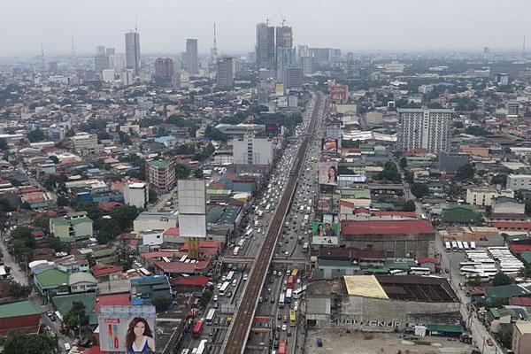 EDSA-Cubao heading northbound towards Kamuning / Wikipedia