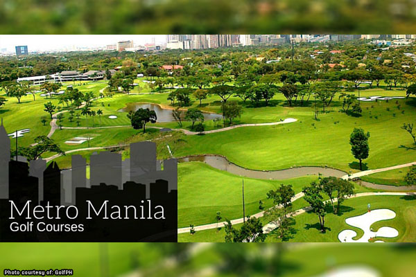 Best golf courses in Metro Manila