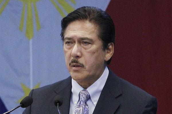 Senate President Vicente Sotto III