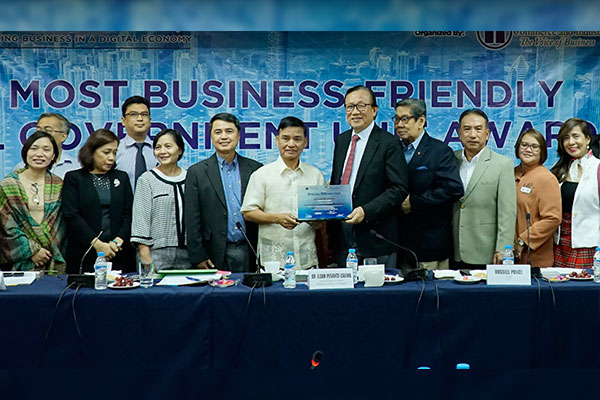 Munti qualifies for PCCI Most Business - Friendly