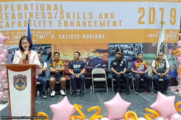 Pasay hosts regional BFP-NCR skills, sports competition