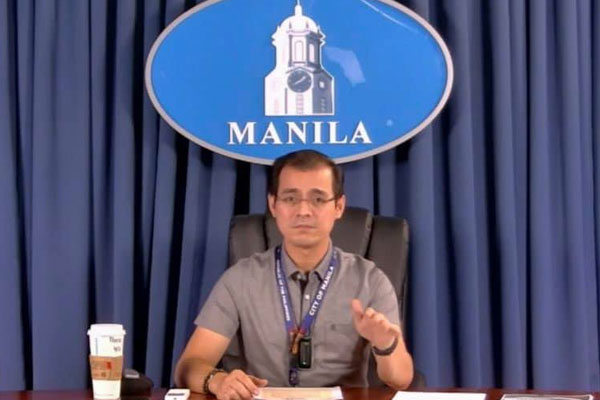 Manila City Mayor Francisco Domagoso / Screen grabbed from Manila PIO