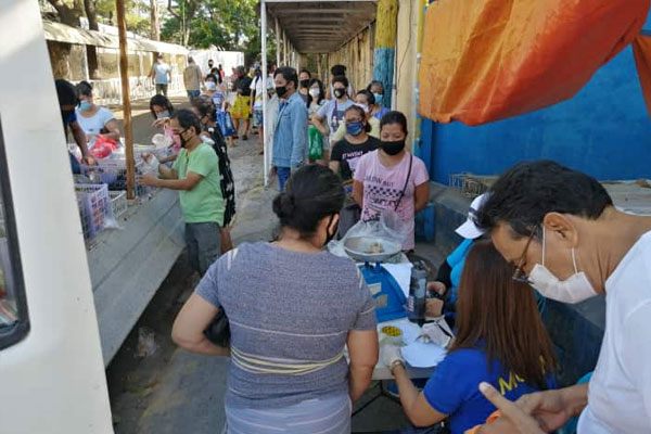 Muntinlupa City Market on Wheels in Katarungan 2 / Photo Courtesy Muntinlupa PIO