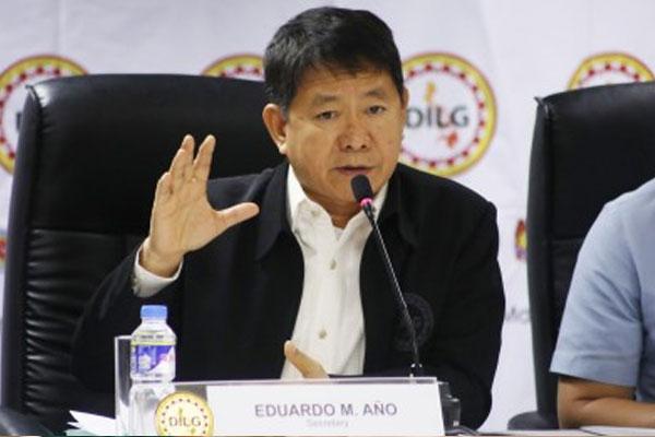 DILG Secretary Eduardo A%uFFFDo / PNA