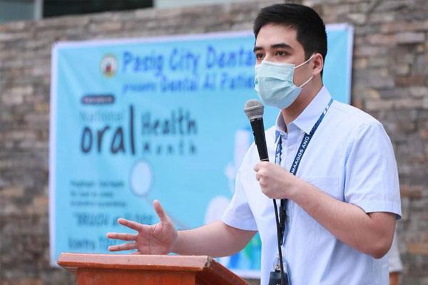 Pasig City Mayor Vico Sotto