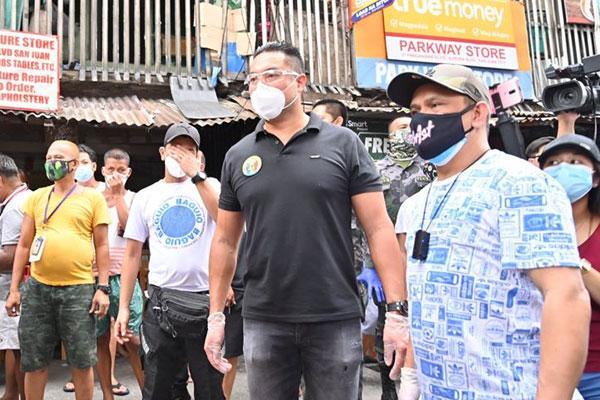 San Juan City Mayor Francis Zamora / San Juan PIO