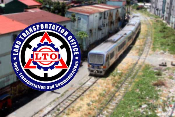 LTO and PNR to develop rail crossings safety measures