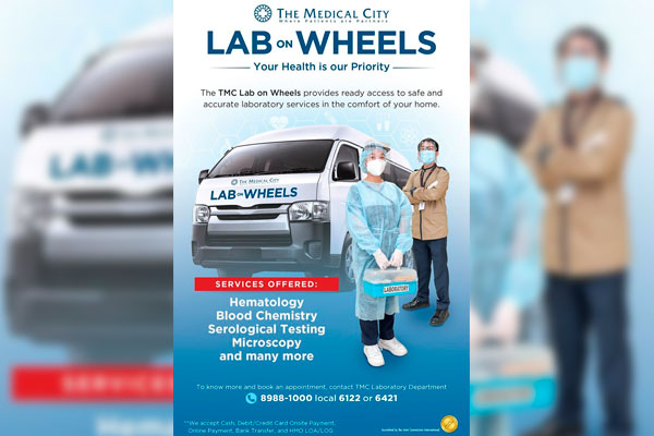Medical City Lab on wheels service / Facebook / The Medical City