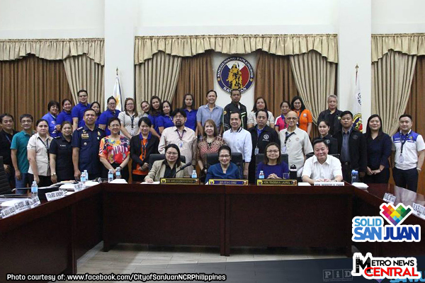 San Juan holds 3rd Quarterly  Joint Peace and Order Council & City Anti-Drug Abuse Council Meeting