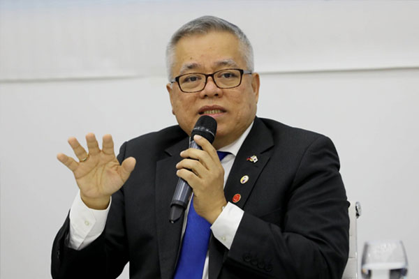 Department of Trade and Industry (DTI) Secretary Ramon Lopez