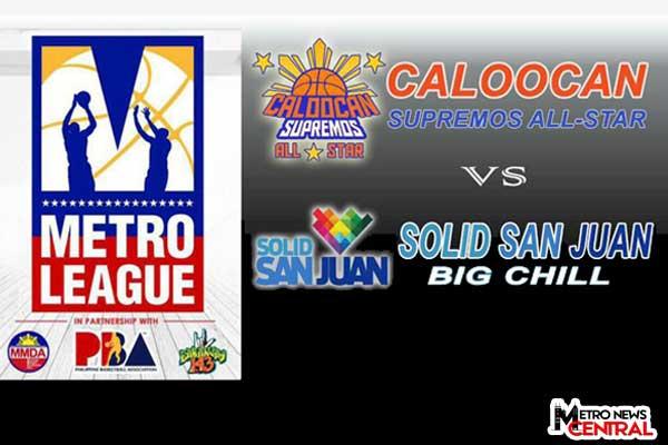 Metro League: Caloocan beats San Juan
