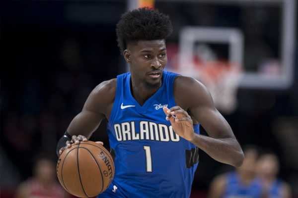 Orlando Magic forward Jonathan Isaac / Photo by Scott Taetsch/Getty Images