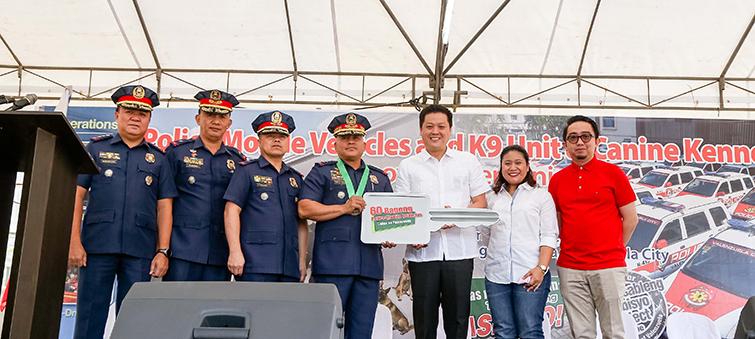 60 new police cars, K9 Unit