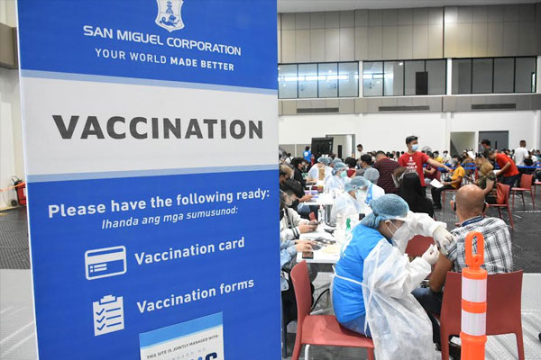 As of July 26, the company has dispatched an initial batch of 26,700 doses out of the 150,000 doses of COVID-19 vaccine to vaccination sites in Pasig, Isabela, Pangasinan, Pampanga, Laguna, Bataan, Cavite, Batangas, Cebu, Iloilo, Bacolod, Davao, and Cagayan de Oro.