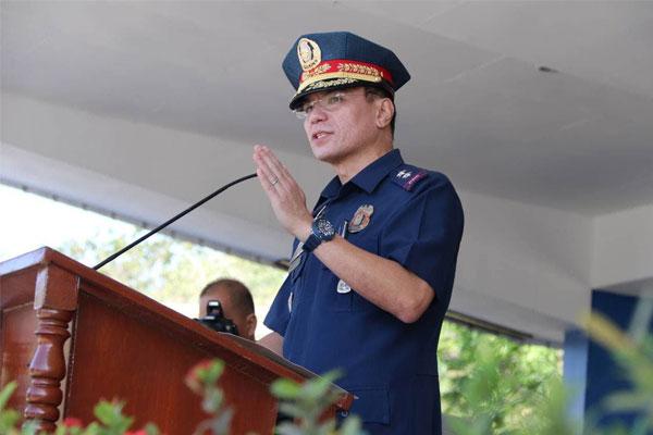 Philippine National Police (PNP) chief Gen. Guillermo Eleazar