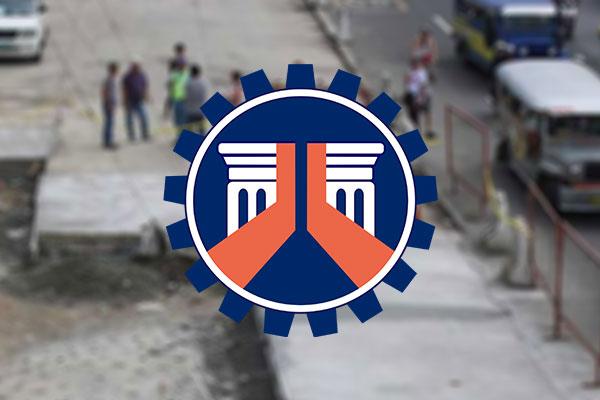 DPWH Road Reblocking