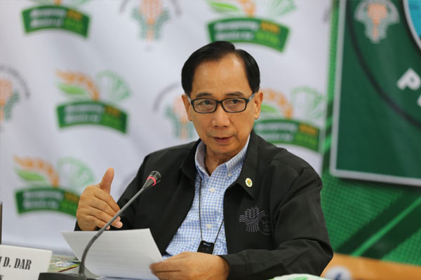 Department of Agriculture (DA) Secretary William Dar