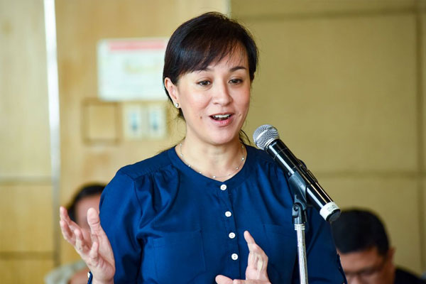 International Olympic Committee Executive Board member Mikee Cojuangco-Jaworski / Photo Courtesy of ABS-CBN News