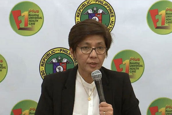 Department of Health (DOH) Undersecretary Maria Rosario Vergeire