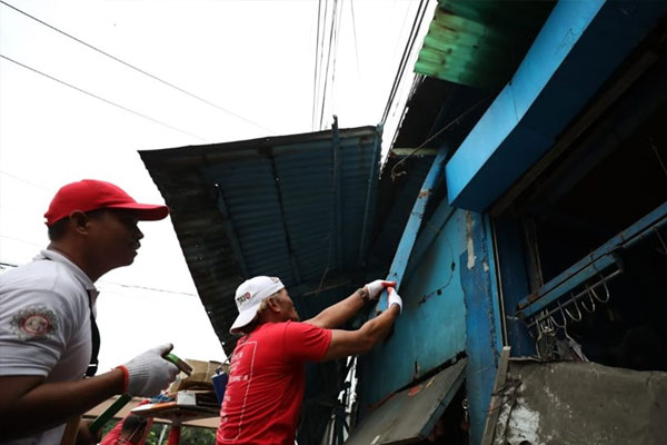 Taguig City Sidewalk clearing opeartions / Taguig PIO