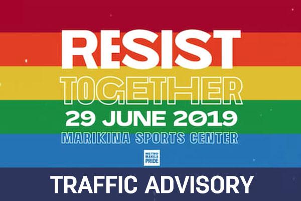 #MNCAdvisory: Marikina traffic rerouting, June 29